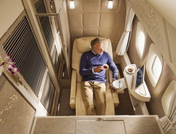 First Class Emirates Boeing 777