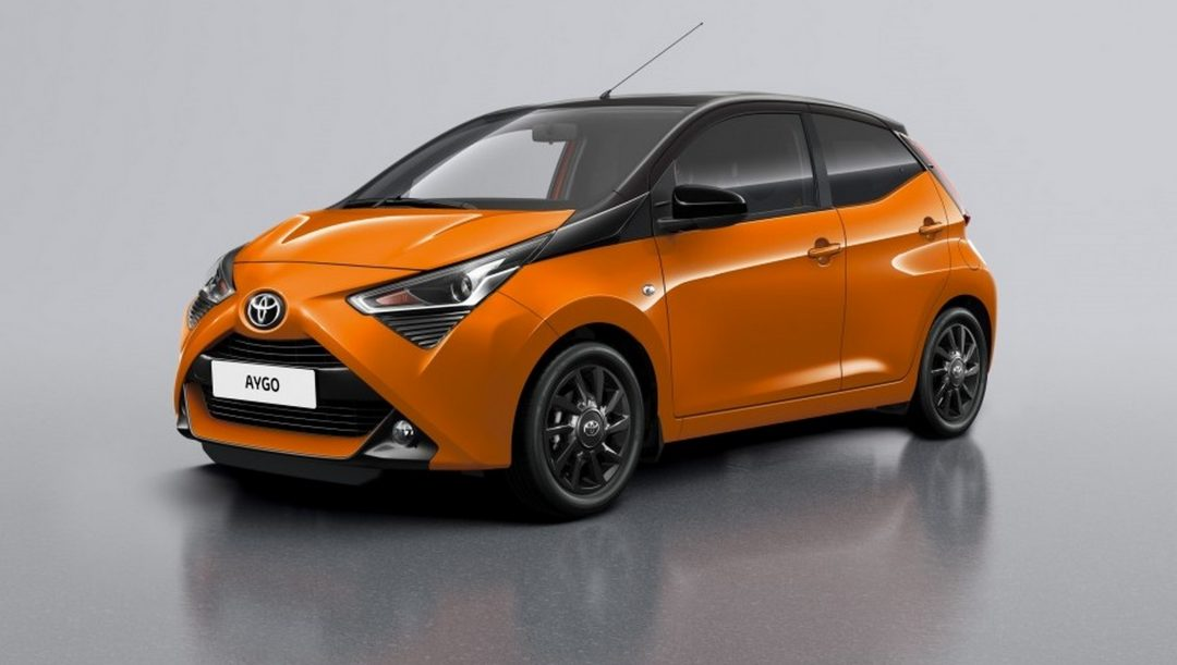 Toyota AYGO Connect X-Cite
