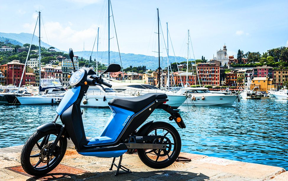 Oxygen scooter elettrico