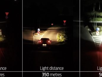Ford Adaptive Front Lighting System