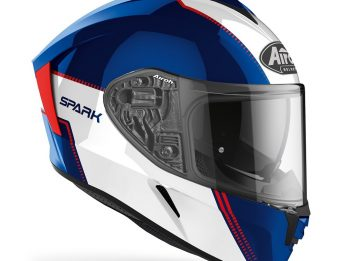 Airoh Spark Flow Blue/Red Gloss