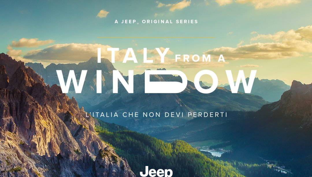 Jeep web serie Italy from a window