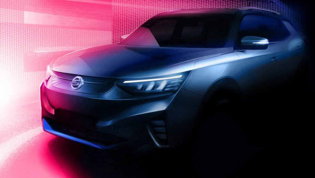 SsangYong nuovo suv elettrico 2021