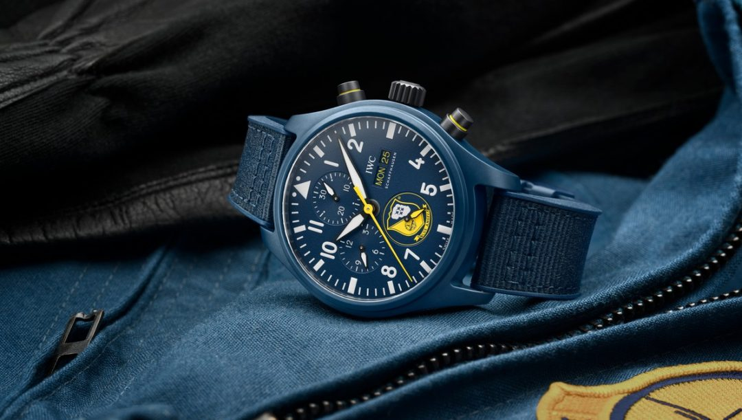 IWC Pilot's Watches Chronograph Editions U.S. Navy